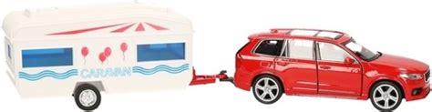 speelgoed xc90 bol volvo xc90 met caravan speelgoed modelauto 1 34