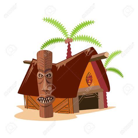 Tiki Hut Drawing Free Tiki Hut Clipart 36