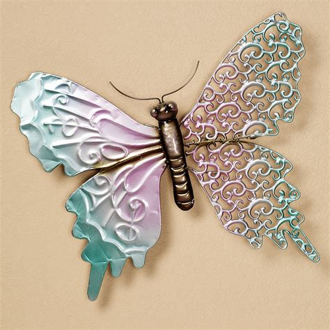 metal butterfly wall decor creative home decoration