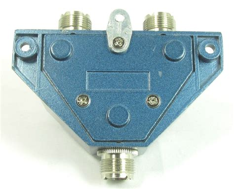 mfj 1702c 2 position hf vhf uhf antenna switch with lightning protection ebay