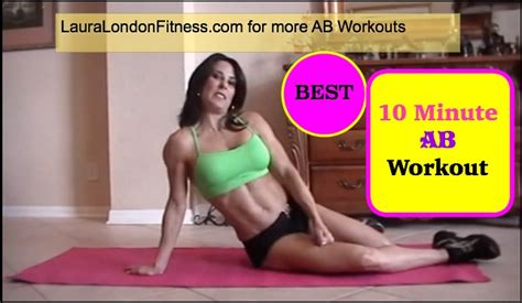 10 Minute No Floor Workout - 10 minute ab workout