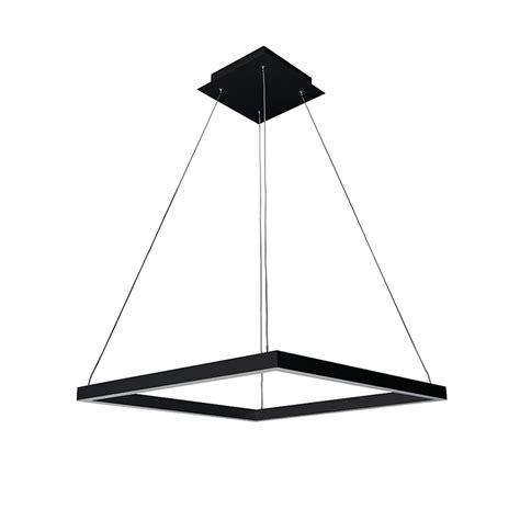 Black Square Chandelier Atria Square Chandelier Black Vonn Touch Of Modern