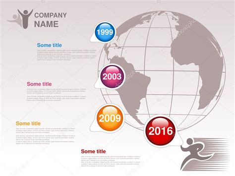 company st template company profile template stock vector 169 rena design