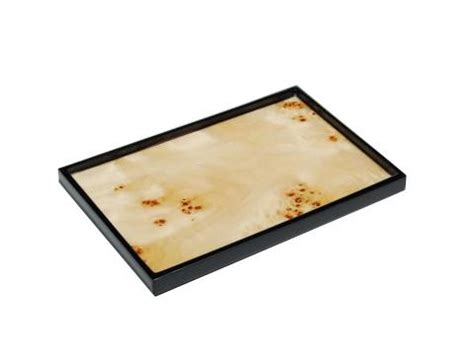 Wood Vanity Tray by Lacquered Wood Vanity Trays Terrestra