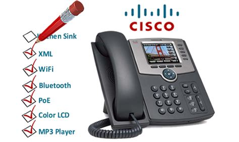 Cisco Spa 525 G cisco spa525g multimedia ip phone now shipping voip insider
