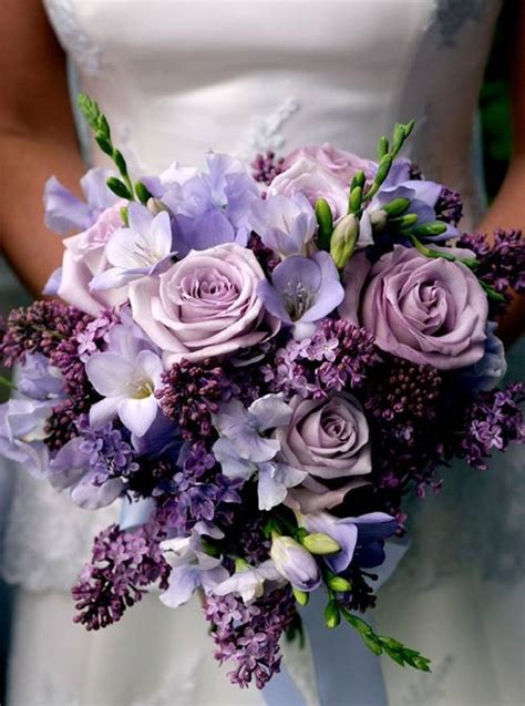 wedding flower inspiration lilac