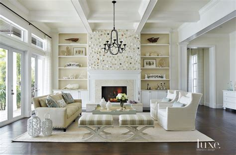 define livingroom a sand swept palette and shell feature wall define a