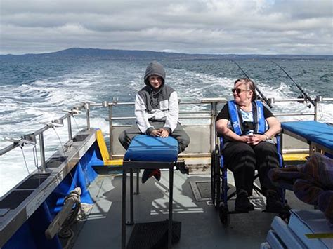 wheelchair fishing boat wheelchair friendly timeout fishing charters