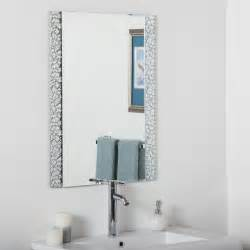 Bathroom Vanity Mirrors Lowes by Decor Wonderland Ssm5039s Vanity Bathroom Mirror Lowe S