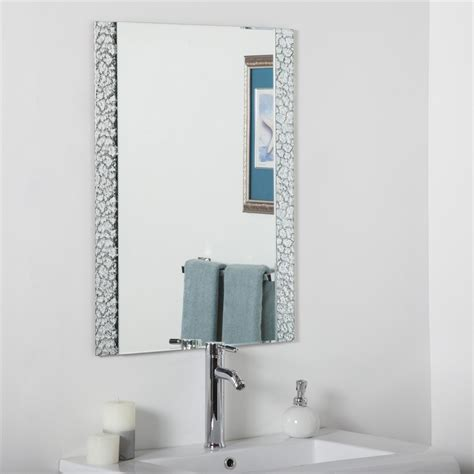 decorate bathroom mirror decor wonderland ssm5039s vanity bathroom mirror lowe s