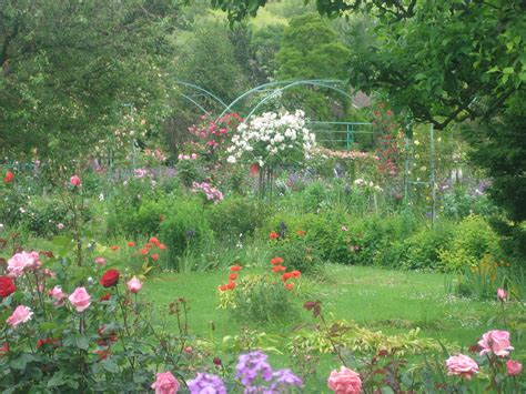 Monet Flower Garden Monet S Flower Garden By Demonicmonkies On Deviantart