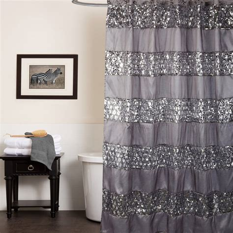 popular shower curtains popular bath sinatra silver collection 70 quot x 72