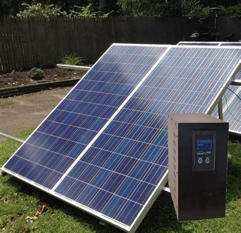 whole house 2kw solar generator 2 000 watt ac output