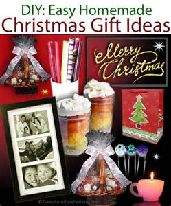 diy easy gift ideas and