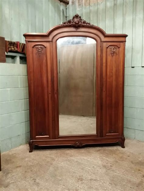 antique mahogany armoire antique french mahogany armoire c1880 antiques atlas