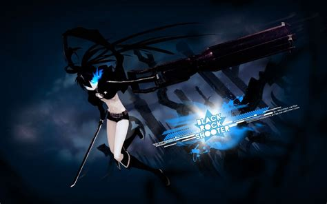 black rock shooter full hd black rock shooter hd background picture image