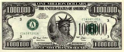 Million Dollar Gift Card - make 100 million dollars million dollar source million dollar bills cards marketing