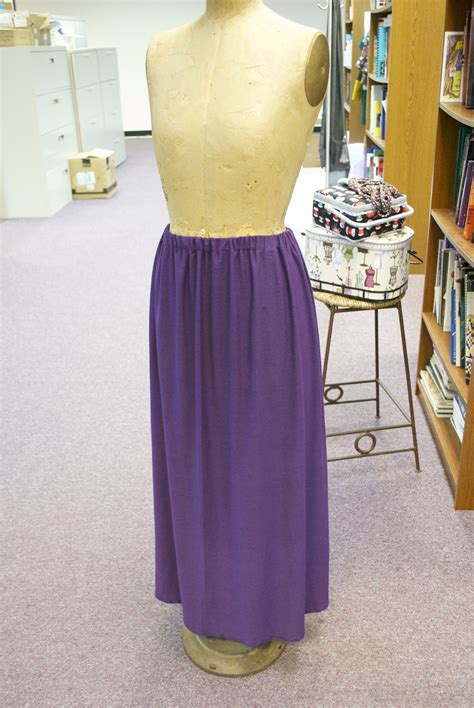 sew a knit skirt without a pattern sew news