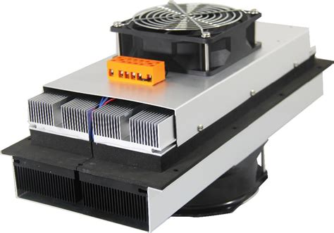 peltier heat sink unit air conditioner unit heat and cooler exchanger with 12v dc