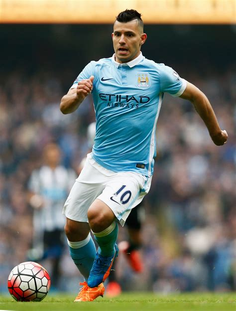 sergio aguero photos photos manchester city v newcastle