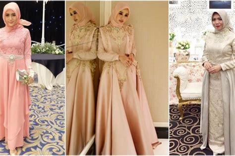 desain gaun untuk muslimah 10 desain cantik gaun muslimah untuk ke acara pesta