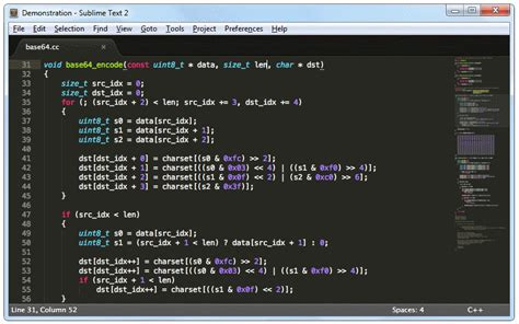 sublime text 3 theme for notepad los mejores editores de texto para programar emezeta com