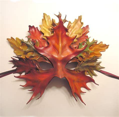 printable leaf mask leather leaf mask by teonova by teonova on deviantart