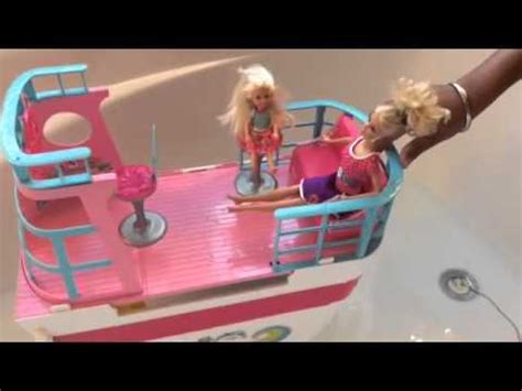 barbie ship videos barbie and friends go on there barbie sisters cruise ship