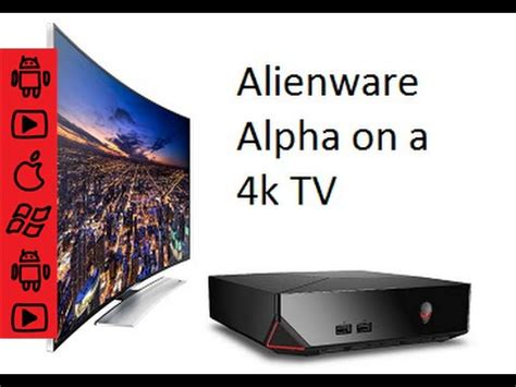 alienware alpha hooked up to samsung 4k led curved tv review uhd gaming