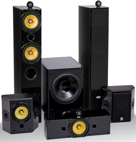 Home Theater Alus Ii audio tx 2 thx ultra2 5 1 speaker system