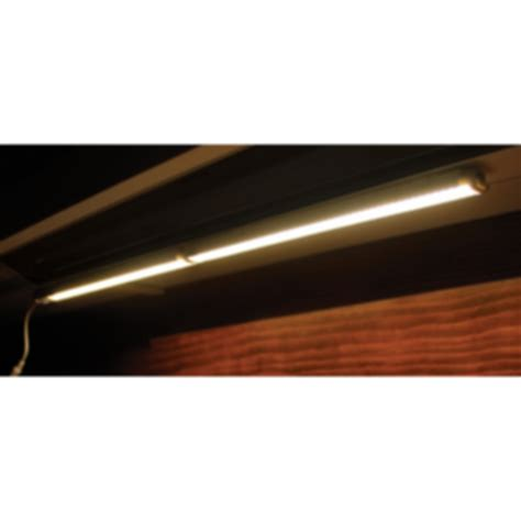 7000 lux bright white light lux linear led undercabinet light modlar com