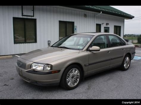 books on how cars work 2001 volvo s80 engine control sell used 2001 volvo s80 t6 executive automatic 4 door sedan leather low miles non smoker in