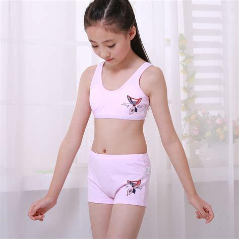 12 year old panties back girls underwear small vest 11 student development cotton
