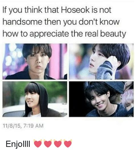 If You Think You Understand Scores Then This Might Change Your Mind by If You Think That Hoseok Is Not Handsome Then You Don T