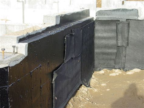 waterproof basement walls exterior waterproofing information basement waterproofing101