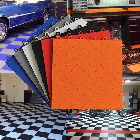 TrueLock Diamond Cheap Garage Floor Tile Alternative