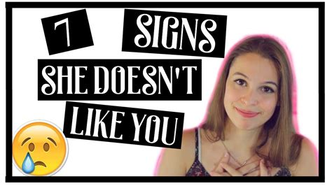7 Signs That Your Doesnt Like You 7 signs she doesn t like you