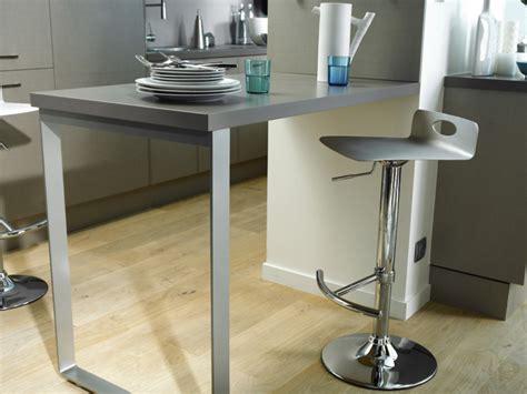 Bien Petite Table De Cuisine Rabattable #5: mobilier-maison-table-de-bar-fixee-au-mur-5.jpg