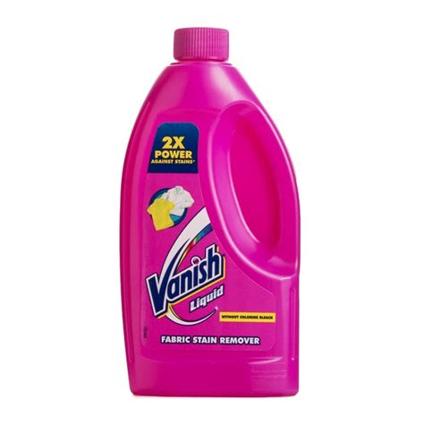 vanish upholstery cleaner vanish liquid fabric stain remover 500ml woolworths co za