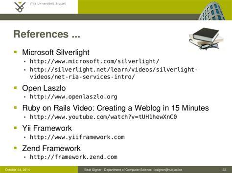 tutorialspoint zend framework web application frameworks lecture 05 web information