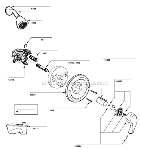 Shower Parts Names by Moen L3175 Parts List And Diagram Ereplacementparts