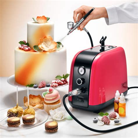 just like home design your own cake buy airbrush compressor kit 7 piece set online