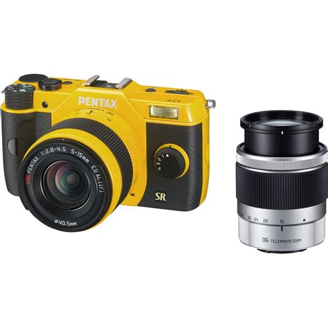 pentax compact pentax q7 compact mirrorless with 5 15mm and 11565 b h