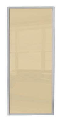 ellipse single panel walnut panel sliding door homebase co uk