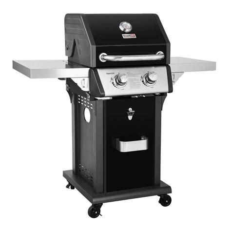 Patio Grill Table Royal Gourmet Deluxe 2 Burner Patio Propane Gas Grill In Black With Folding Side Tables Gg2005