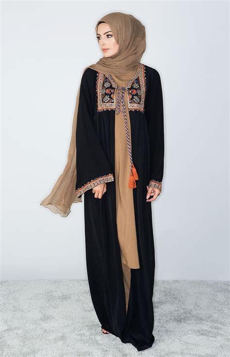 Abaya Arab Walimah 1 aab uk kilim kimono standard view jilbab abayat robes kimonos abayas and