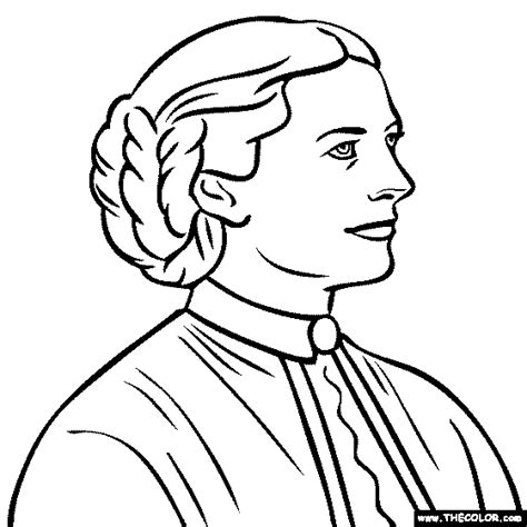 famous historical figure coloring pages page 3
