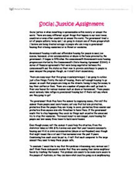 What Is Justice Essay by Social Justice Essay Gcse Sociology Marked By Teachers