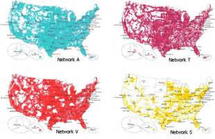 sprint cell phone coverage maps comparison