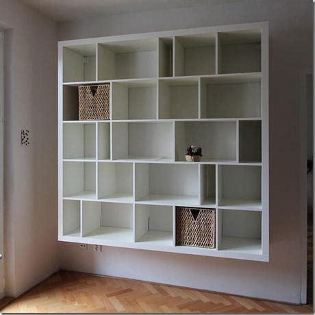 librerie ikea expedit diy ikea expedit trasformazione paperblog